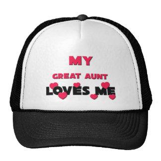 My Great Aunt Loves Me Trucker Hats
