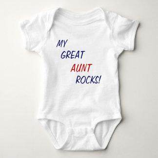 My Great Aunt Rocks! Baby one piece Baby Bodysuit
