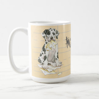 My Great Dane Ate my Homework Coffee Mug