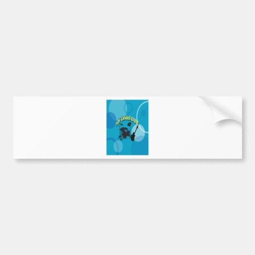My Group Band Sweet Blue Bumper Sticker