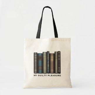 My Guilty Pleasure Book Lover Tote Bag