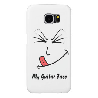 My Guitar Face Cell Phone Case