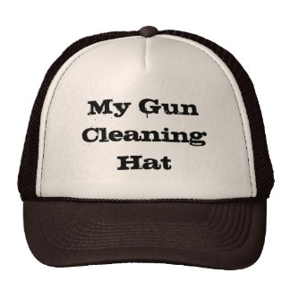 My Gun Cleaning Hat