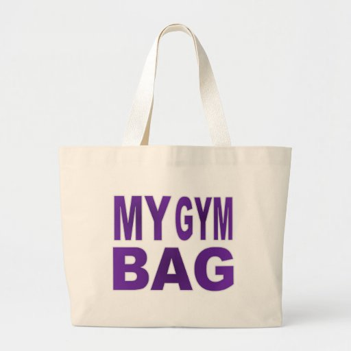 My Gym Bag - Purple