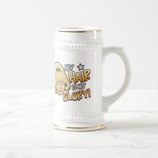 My Hair Is My Glory Funny Coffee Mug