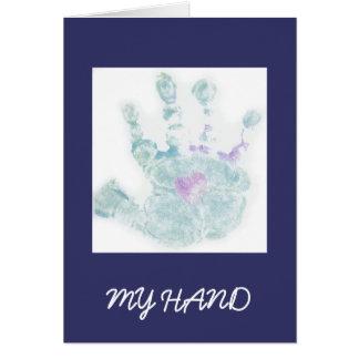 MY HAND CARD