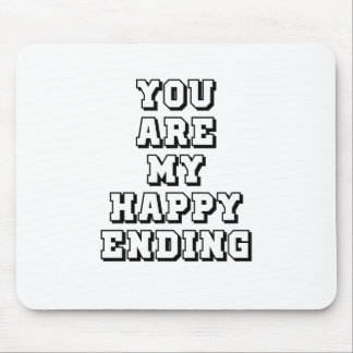 My happy ending mouse pad