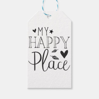 my happy place gift tags