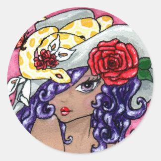 """""""My Hat Is Fabulous!"""" Sticker"""