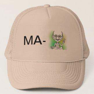 My hat 'Ma-Ghandi'