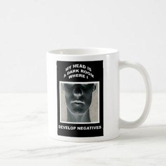 My head is a darkroom where I develop negatives Coffee Mug