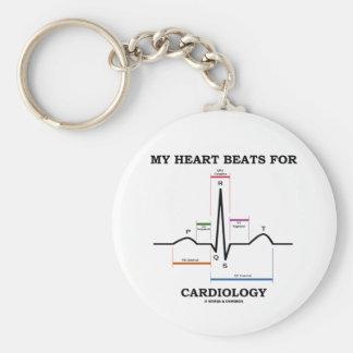 My Heart Beats For Cardiology (Sinus Rhythm) Key Chain