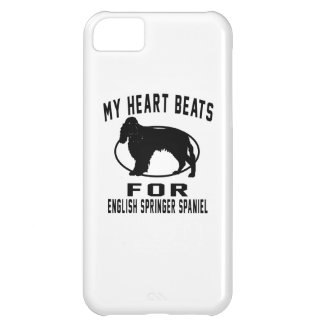 My Heart Beats For ENGLISH SPRINGER SPANIEL iPhone 5C Case