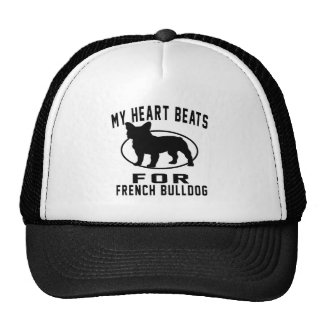 My Heart Beats For French Bulldog. Cap