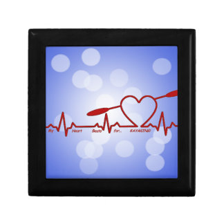 MY HEART BEATS FOR KAYAKING (CARDIOGRAM) GIFT BOX
