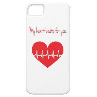 My heart beats for you case for the iPhone 5
