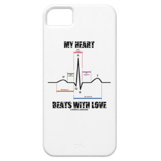 My Heart Beats With Love (Electrocardiogram ECG) iPhone 5 Case