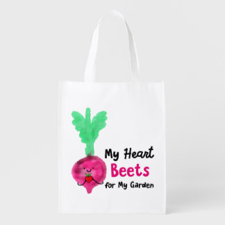 My Heart Beets for My Garden - Shopping Bag