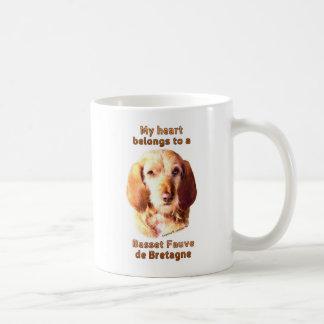 My Heart Belongs To A Basset Fauve de Bretagne Coffee Mug