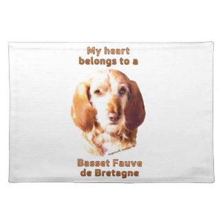 My Heart Belongs To A Basset Fauve de Bretagne Placemat