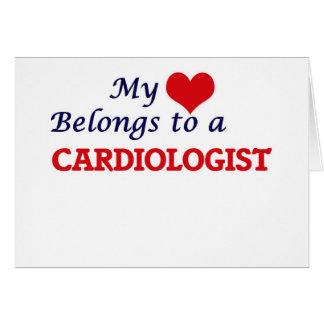 My heart belongs to a Cardiologist Card