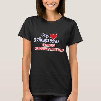 My heart belongs to a Clinical Molecular Geneticis T-Shirt