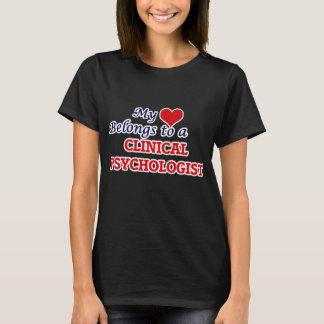 My heart belongs to a Clinical Psychologist T-Shirt