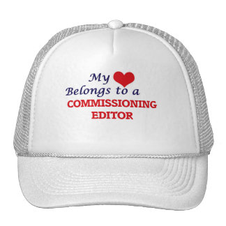 My heart belongs to a Commissioning Editor Cap