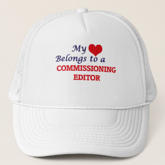 My heart belongs to a Commissioning Editor Trucker Hat