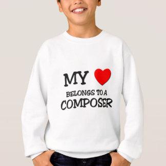 My Heart Belongs To A COMPOSER Sweatshirt
