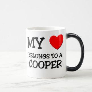 My Heart Belongs To A COOPER Magic Mug