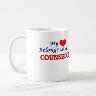 My heart belongs to a Counselor Coffee Mug