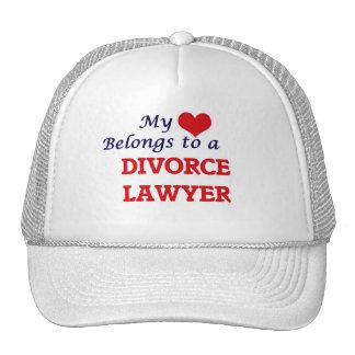 My heart belongs to a Divorce Lawyer Cap