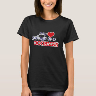 My heart belongs to a Doorman T-Shirt