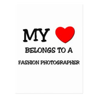 My Heart Belongs To A FASHION PHOTOGRAPHER Postcard