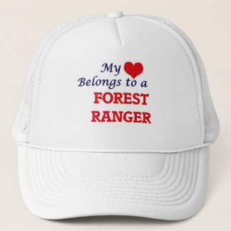 My heart belongs to a Forest Ranger Trucker Hat