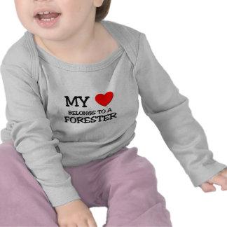My Heart Belongs To A FORESTER Shirt