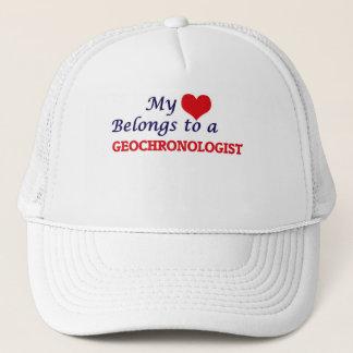 My heart belongs to a Geochronologist Trucker Hat