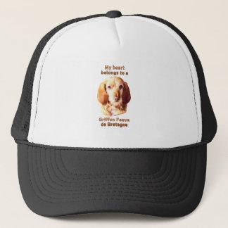 My Heart Belongs To A Griffon Fauve de Bretagne Trucker Hat