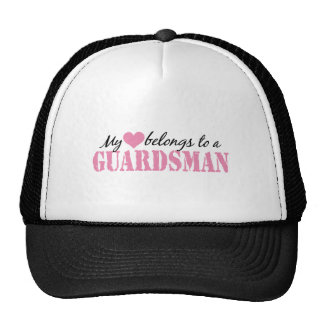 My Heart Belongs To a Guardsman Cap