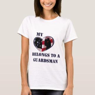 My Heart Belongs to a Guardsman T-Shirt