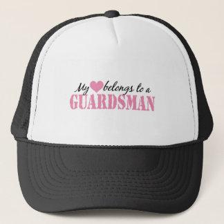 My Heart Belongs To a Guardsman Trucker Hat