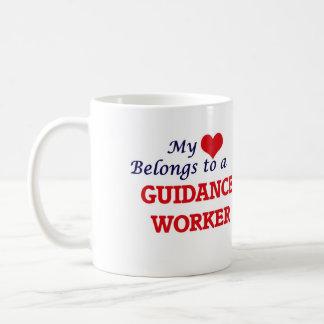 My heart belongs to a Guidance Worker Coffee Mug