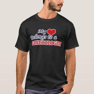 My heart belongs to a Gynecologist T-Shirt