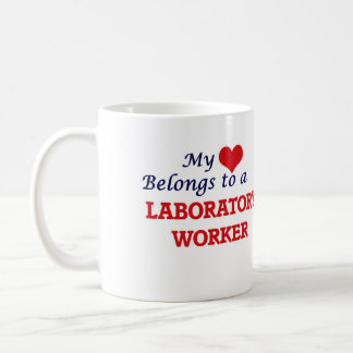 My heart belongs to a Laboratory Worker Coffee Mug