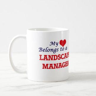 My heart belongs to a Landscape Manager Coffee Mug