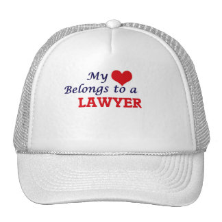 My heart belongs to a Lawyer Cap