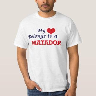 My heart belongs to a Matador T-Shirt