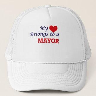 My heart belongs to a Mayor Trucker Hat