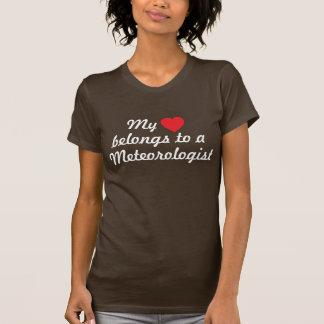 My heart belongs to a meteorologist T-Shirt